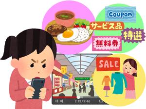 お店の宣伝にウェブサイトやSNSで広告動画をのイメージ